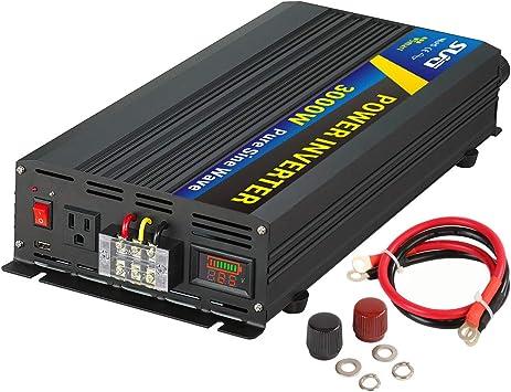 3000w Power Inverter DC 12V to AC 110V power tool converter