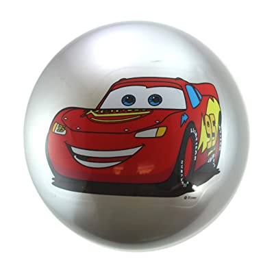 7 Inch Wide Silver Lightning McQueen Playground Ball - Cars Ball: Toys & Games