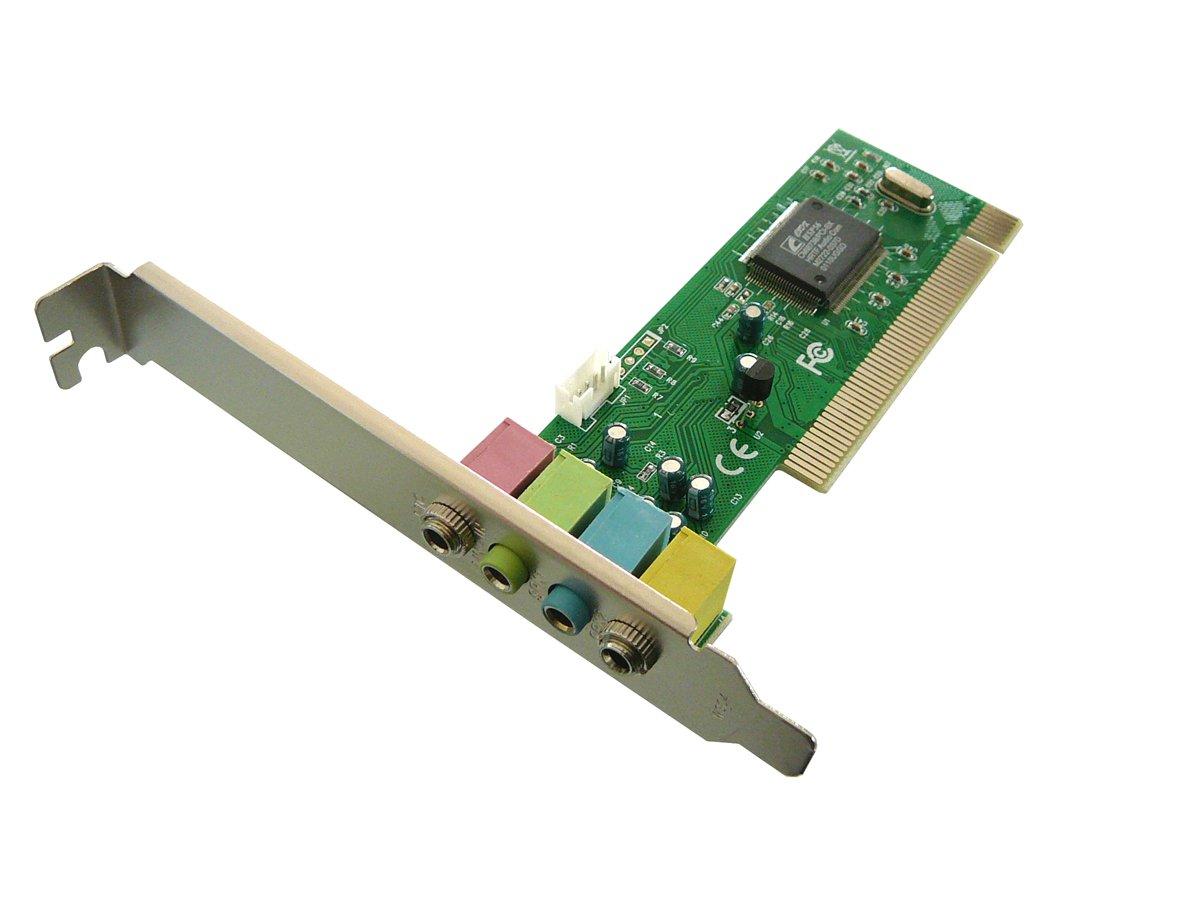 kalea-informatique-scheda barzelletta-scheda PCI scheda audio per porta PCI 4canali ki567
