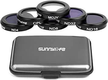 MCUV CPL ND4 ND8 ND16 ND32 Lens Filter for DJI Mavic AIR Filters UV Polarizer ND Gimbal Camera Lens Cover Sunhood CPL MCUV ND8