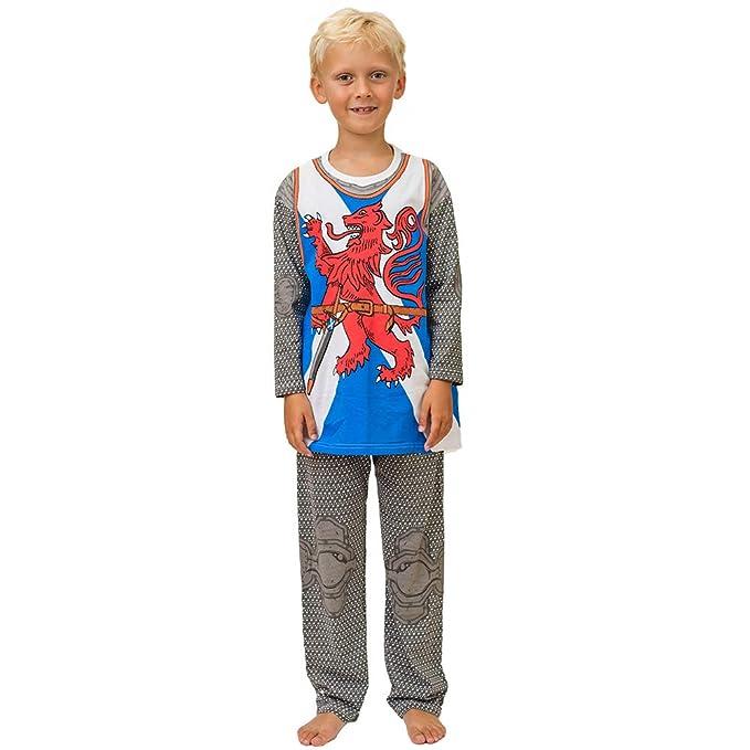 Pijama de Caballero de Escocia y Ropa Casera Divertida: Amazon.es: Ropa y accesorios