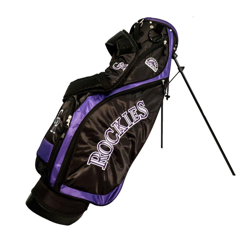 Team Golf 95827 Colorado Rockies MLB Nassau Golf Stand Bag