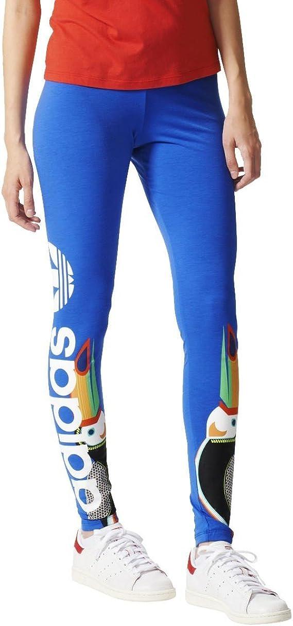 adidas Pantalons et Collants Legging Linear Lab Blue