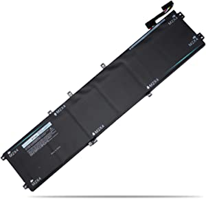 6GTPY Laptop Battery for Dell XPS 15 Series 9570 9560 9550 7590 Precision 5520 M5520 5530 15-9560-D1745 D1645 D1545 D1845 D1845T Series 6 Cell New Computer Battery