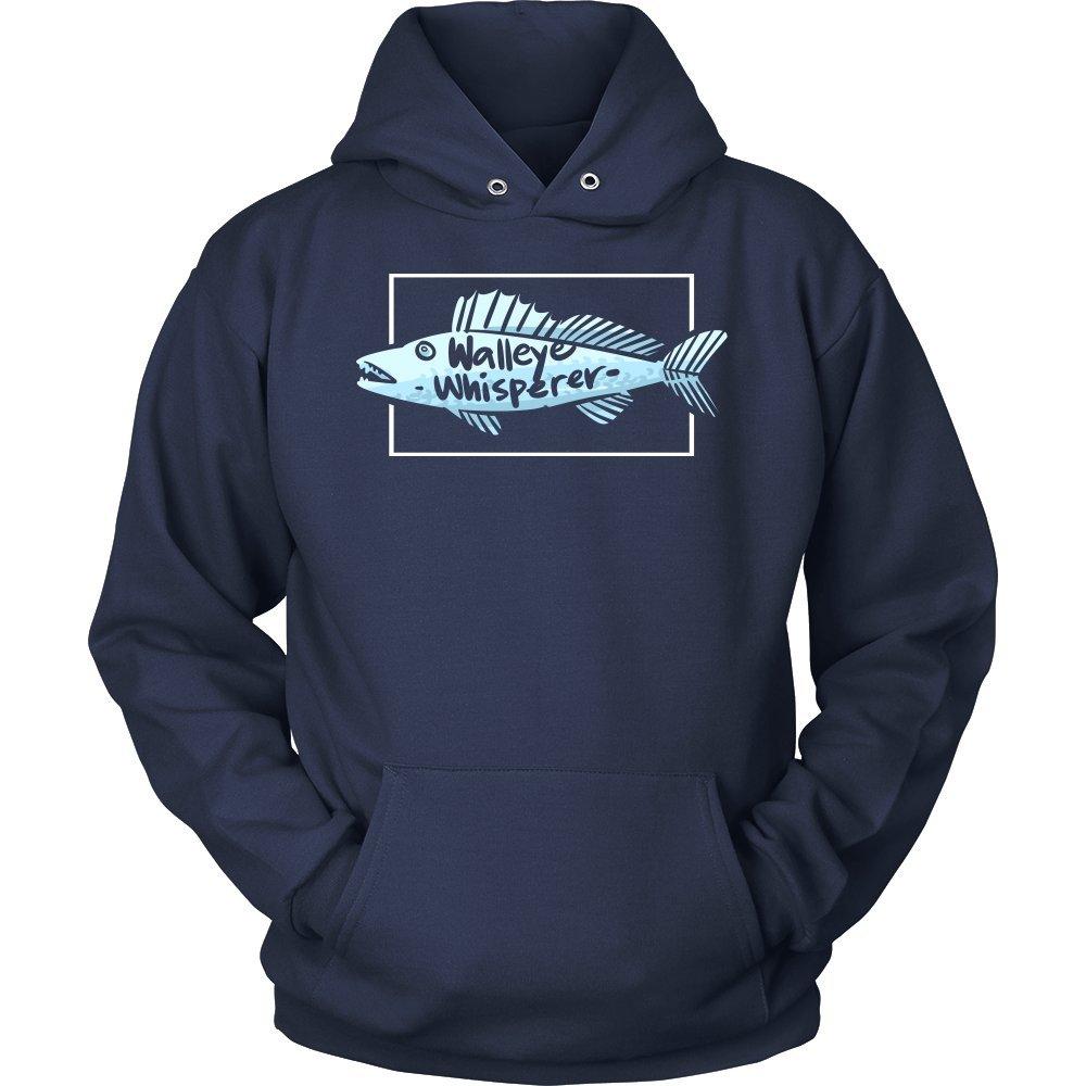 Lifehiker Designs Walleye Whisperer,Fisherman,Fishing Fish Lover Hoodie