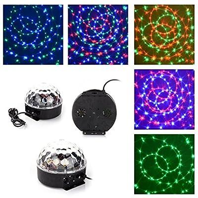 Generic Disco Stage LED RGB Crystal Magic Effect Dot Light Ball