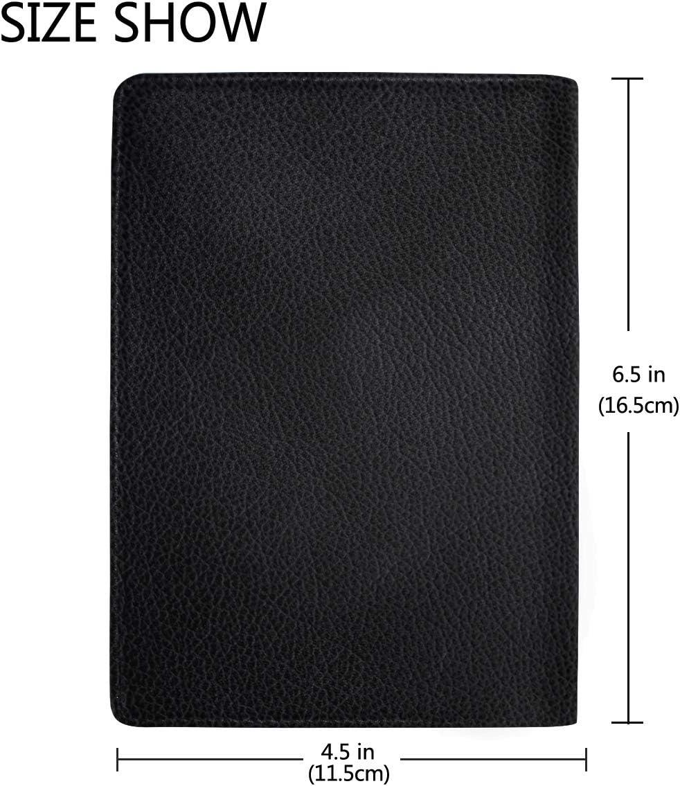 Umbrellas Scenery Street Leather Passport Holder Cover Case Travel One Pocket