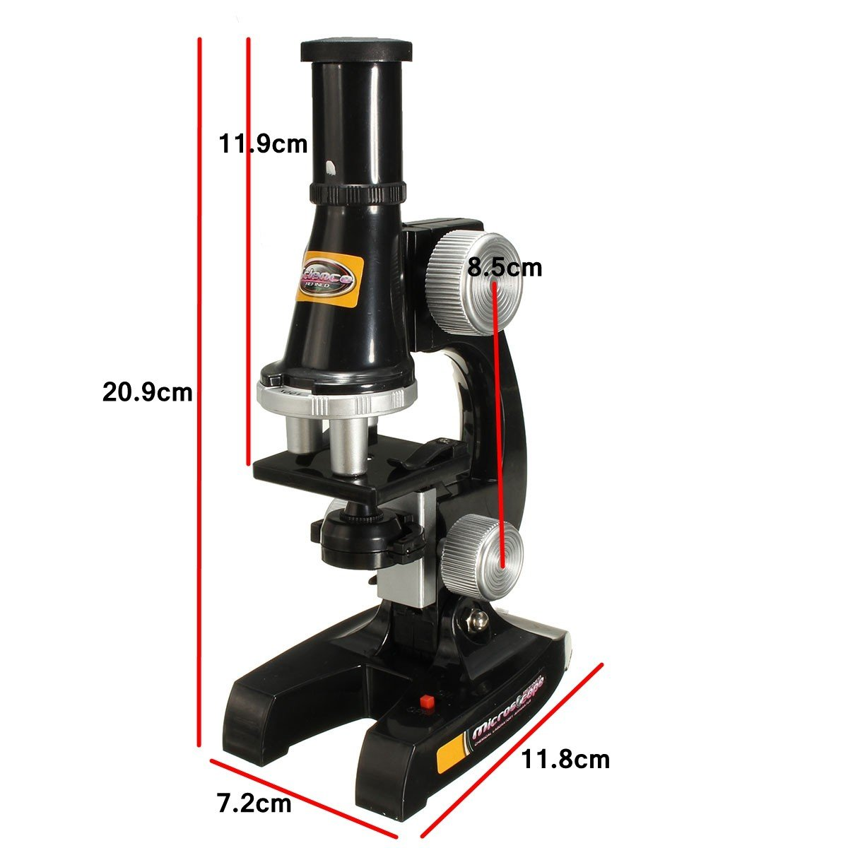 New Scientific Eductional Experiment Microscope Set Optical Supplies Science Lab Toy By Letbo