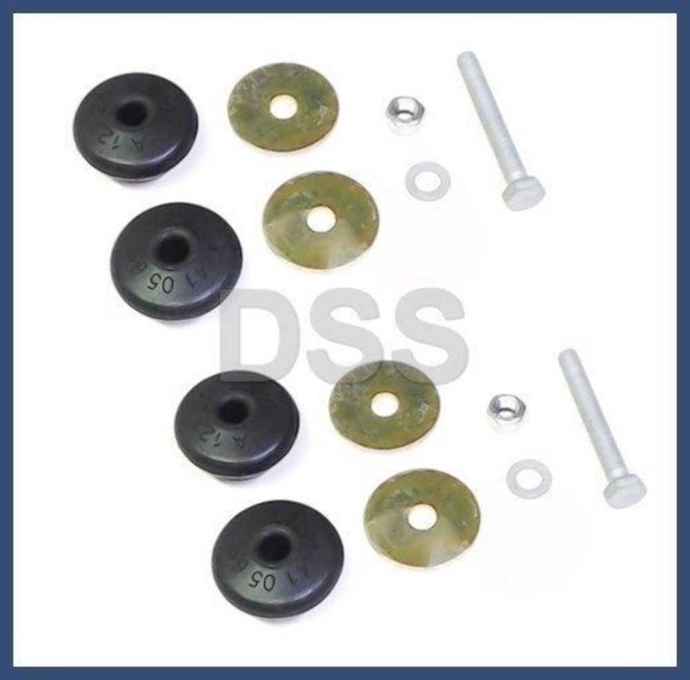 Mercedes w123 300 Engine Shock Mounting KITS (2 sets) GENUINE MERCEDES