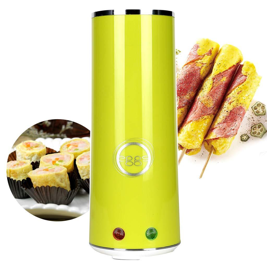 Kicpot Egg Master Roll Maker, Multi-Function Breakfast Egg Roll Machine Home DIY Egg Cooker Fast and Easy(110V~60Hz) (Green) by Kicpot