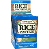 Nutribiotic Organic Rice Protein Packets, Plain, 12 Count