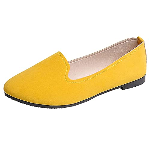design de qualité e50de 5a6ae Nouvelles Femmes Filles Couleur Unie Grande Taille Slip On ...