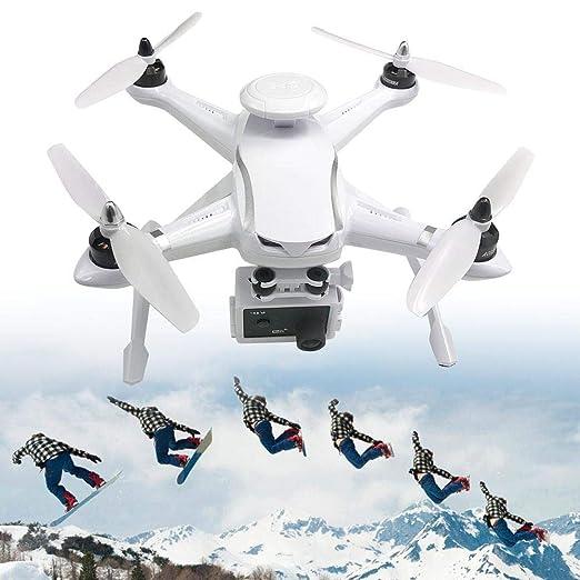 Qinlorgo RC Drone, 110-240V GPS RC Drone Motor sin escobillas WiFi ...
