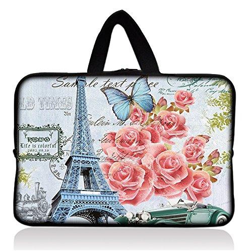 Eiffel Tower & Pretty Pink Roses 7