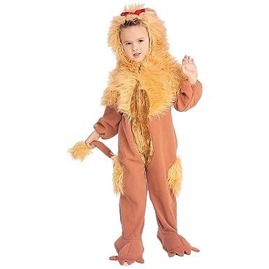 Amazon.com: cowardly León disfraz accesorio – pequeño: Clothing