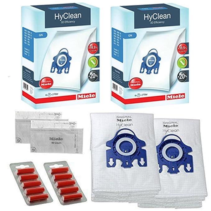 5 Sacchetti per aspirapolvere MIELE GN S2110 S421I S456I S5261 S2111 S424I Aspirapolvere Sacchetti /& Filtro
