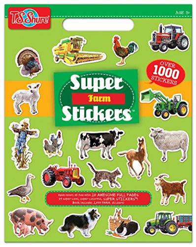T.S. Shure Farm Super Stickers Book