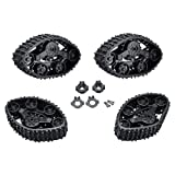 Longshow Track Wheels for RC Car - 4PCS Snow