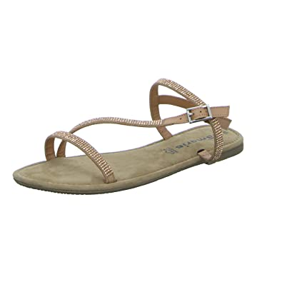 Tamaris Schuhe 1 1 28143 38 Bequeme Damen Sandalette, Sandalen, Sommerschuhe für modebewusste Frau,