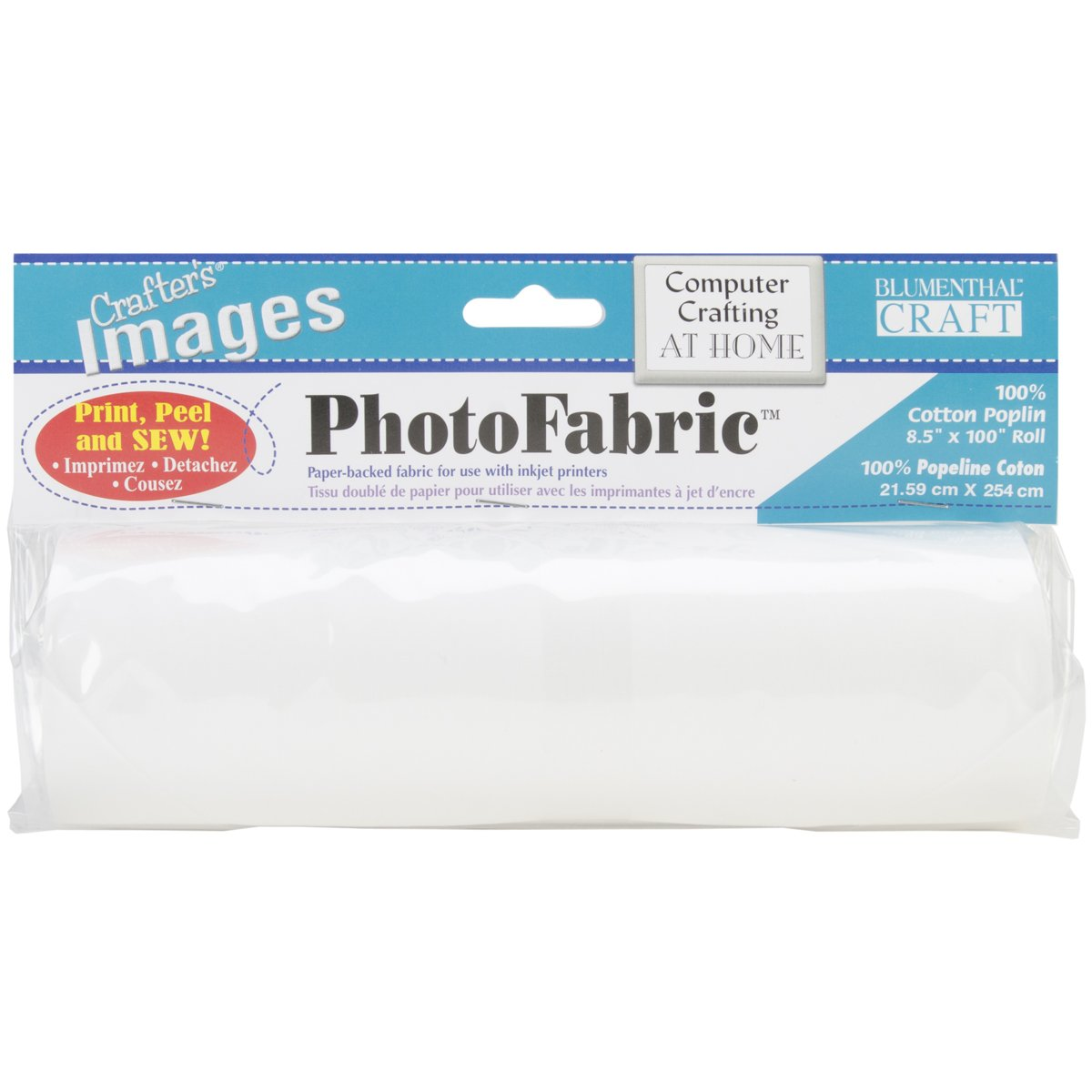 Blumenthal Lansing Crafter's Images 100-Percent Cotton Poplin, 8-1/2-Inch 100-Inch Roll Photo Fabric 10601022