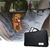 Classic N Chic Pet Travel Kit - 21.3 x 18.1 x 3.9 inches includes Waterproof Car Seat Cover, Seatbelt Leash Extender, Deluxe Paw-Print Blanket, and First Aid Kit