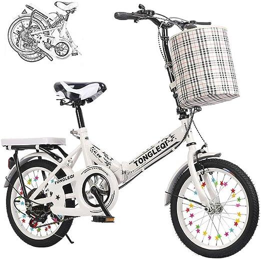 Bicicleta Infantil Bicicleta Plegable 16/20 Pulgadas Hombre Y ...