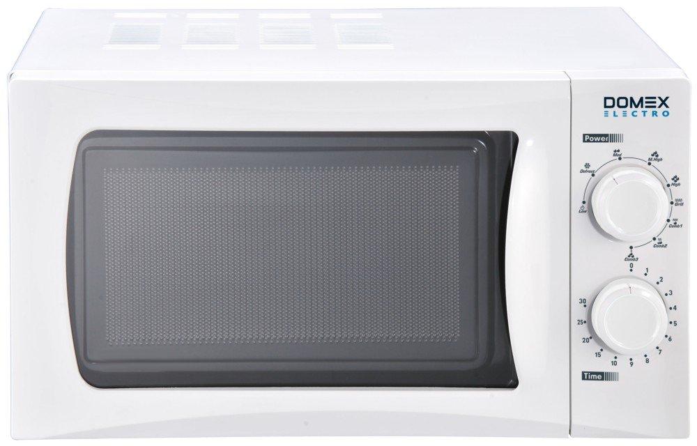 Domex Electro DM004 Microondas con grill, 700 W, 20 litros, Blanco ...