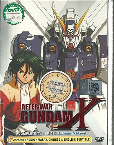GUNDAM X AFTER WAR - COMPLETE TV SERIES DVD BOX SET (1-39 EPISODES)