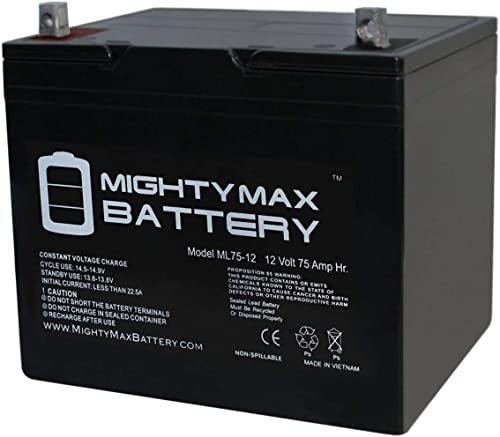 Mighty Max Battery 12V 75Ah SLA Battery