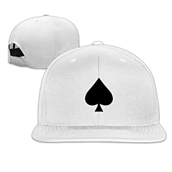 Hittings Vintage Ace Of Spades ACE Black Music Trucker Hats Snapback White   Amazon.co.uk  Sports   Outdoors 8f5b34be82ea
