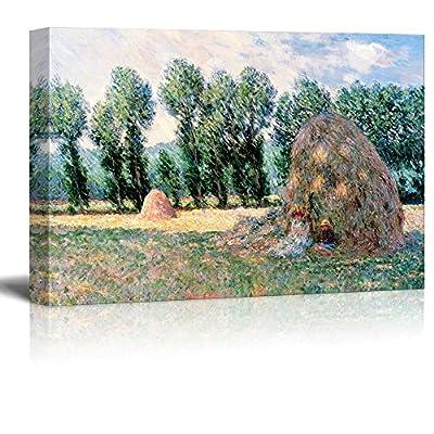 Claude Monet Haystacks Impressionist Art, Premium Creation, Delightful Design