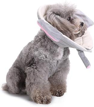 AOLVO Collar de recuperación para Perro Elizabethan Collar para ...