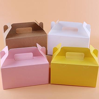 Z@SS Paquete De Cajas 10 7.87 * 5.11 * 4.33 Pulgadas, Cajas De