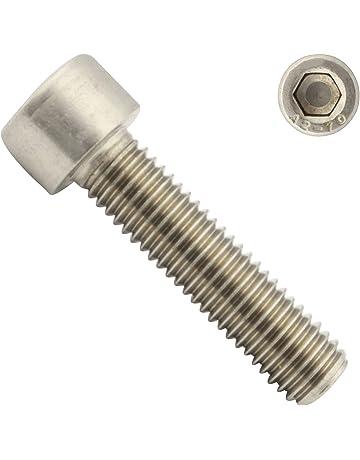 8.8 verzinkt und Unterlegscheiben DIN 934 DIN 912 Zylinderschrauben M6x20 mit Innensechskant DIN 125 - 48 Teile mit Muttern
