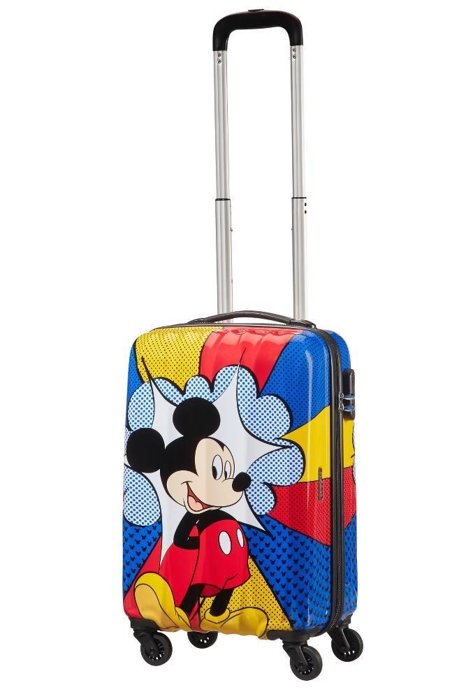 Spinner 55//20 Alfatwist 2.0 Valigia per bambini 55 cm Multicolore Mickey Flash Pop 36 liters Disney Disney Legends