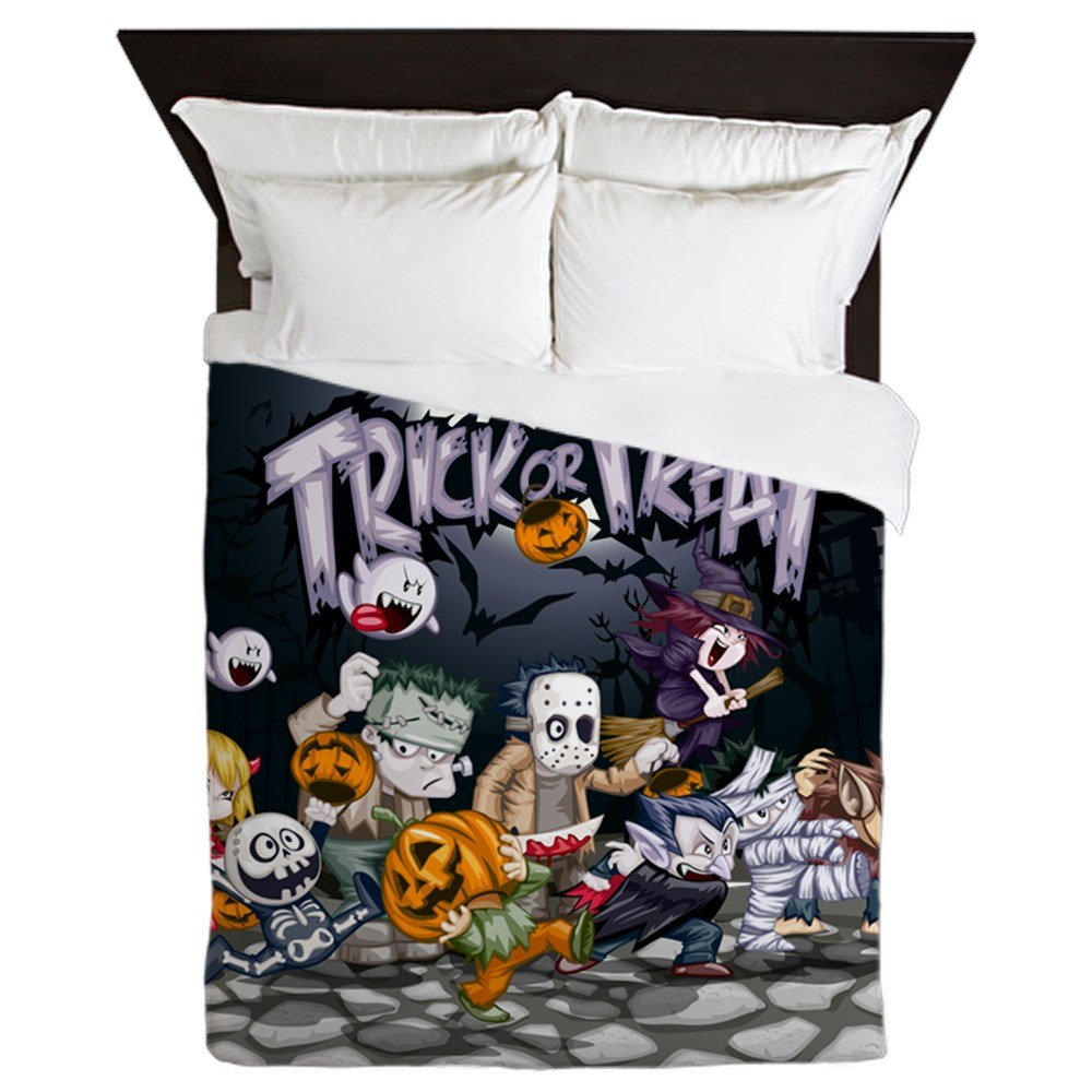 Queen Duvet Cover Halloween Trick or Treat Costumes