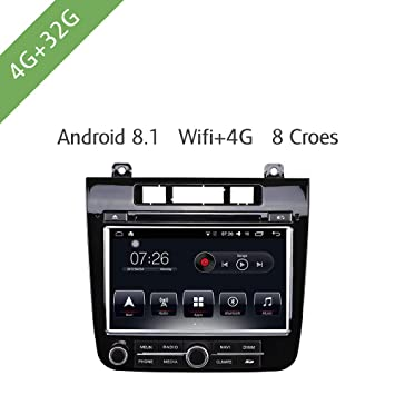 Android 8.0 Reproductor Multimedia de Coche DVD 4G / 32G ...