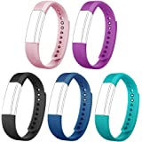 AndThere Replacement Straps Watch Band Replacement Bracelet Adjustable Wristband for ID115HR or ID115 Fitness Tracker Smart Watch