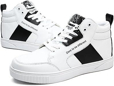 Zapatos de Tenis para Hombre Zapatillas de Tenis de Entrenamiento Profesional de Interior (Blanco-EU39): Amazon.es: Zapatos y complementos