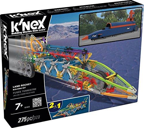 K'NEX Land Rocket Building Set
