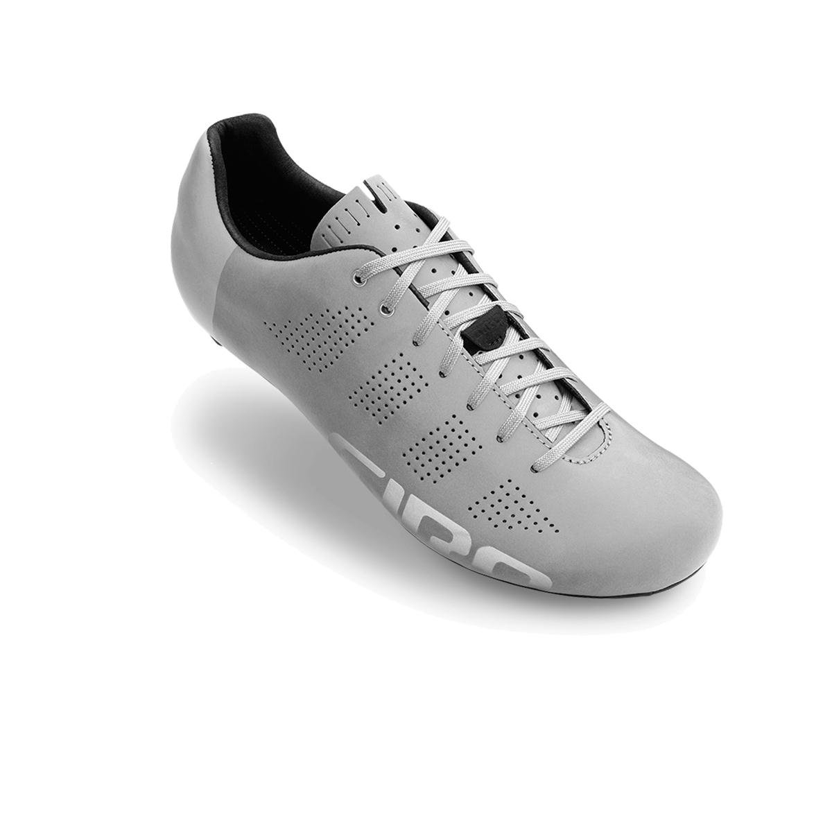 Giro Empire ACC Road Cycling Shoes B00NB0IARQ 45|Silver Reflective