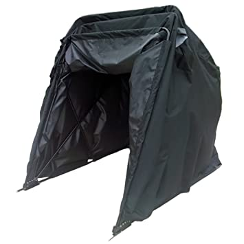 Peaktop Heavy Duty (Small) Motorcycle Shelter Shed Cover Storage Garage Tent +Locku0026Carry Bag  sc 1 st  Amazon.com & Amazon.com: Peaktop Heavy Duty (Small) Motorcycle Shelter Shed ...