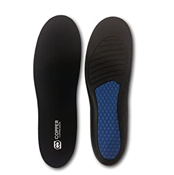 4db4f36d0af60 Copper Compression Plantar Fasciitis Feet Insoles. Anti-Fatigue Foot Pain  Insole. Guaranteed...