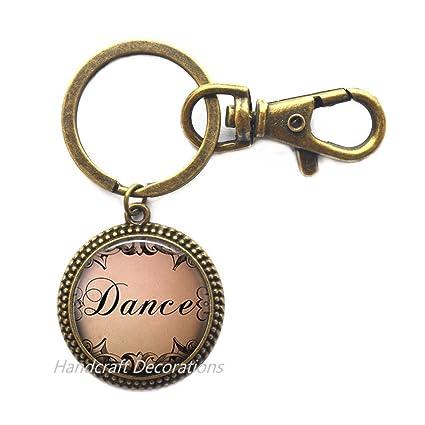 Llavero de danza - joyería de danza - regalo de bailarina ...