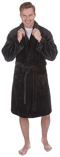 Chambre Homme Robe Ceinture Velourspolaire Longue Avec De 9IebDHWEY2