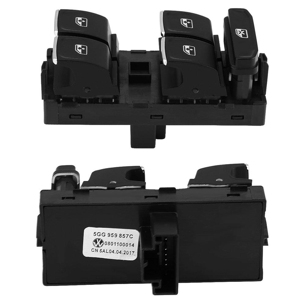 Qiilu Power Window Master Control Interruptor para 5G0 959 857C