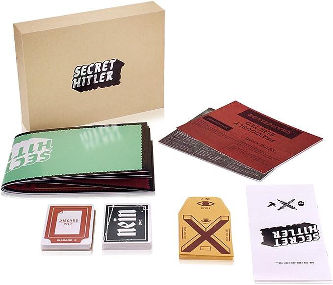 Cenblue Juego de cartas secreto de la mesa de juegos de Hitler: un juego de cartas ocultas de identidad para la fiesta familiar: Amazon.es: Juguetes y juegos