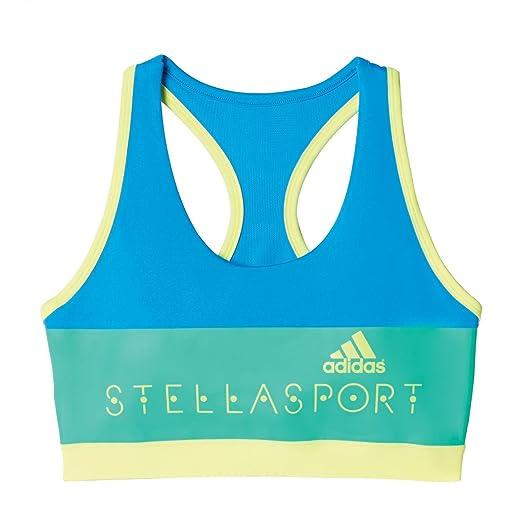 5f2ed721b6 adidas Stellasport SC Womens Climalite Padded Sports Bra Blue at ...