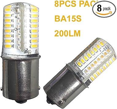1* New 1157 27SMD 5050 Warm White LED Car Tail Brake Light Bulb Lamp Universal