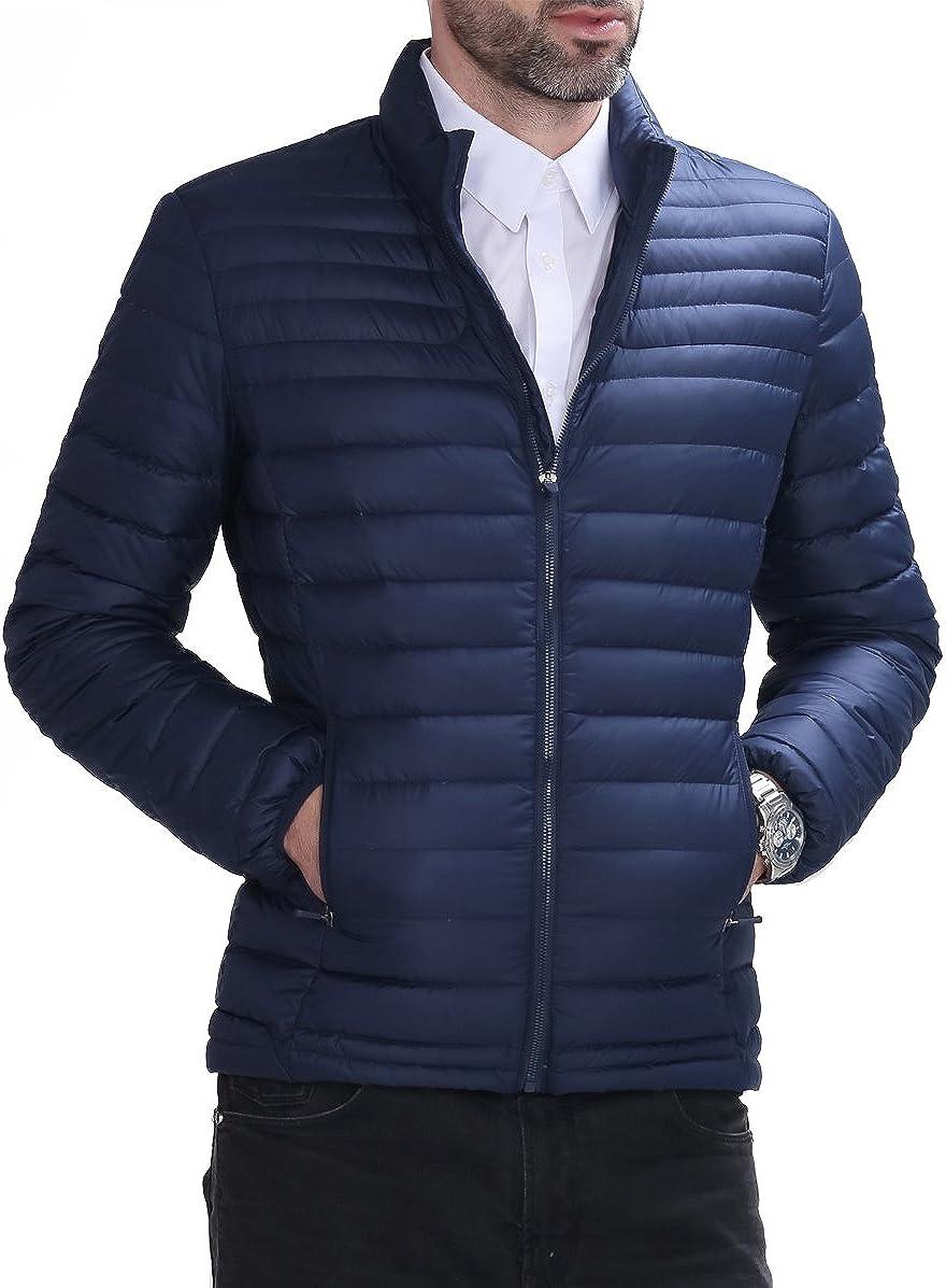 Hoffen Doudoune sport Homme veste dhiver Blouson ou Doudoune chaude courte /à la mode